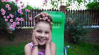 Hairstyle Chupa Chups Lollipops  تسريحة جميلة للشعر - Funny Kids and Alice