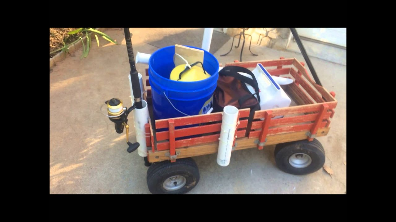 Diy How To Make A Surf Fishing Cart Youtube