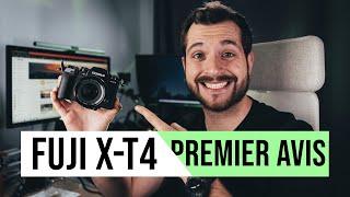 Fujifilm X-T4 / Première prise en main