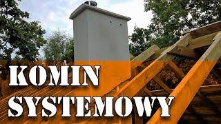 Dom za 100tys - Komin systemowy, Ocieplenie komina #46
