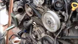 Замена термостата на Audi C5 Allroad