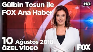 Yürüyen merdivenden düşen çocuk öldü! 10 Ağustos 2018 Gülbin Tosun ile FOX Ana Haber