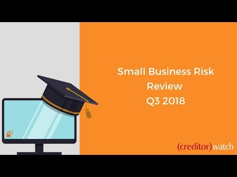 Small Business Risk Review Q3, 2018