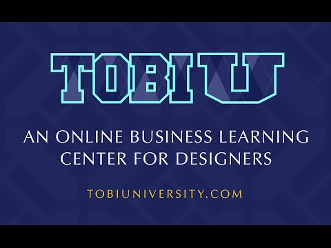 Tobi U - An Online Learning Center for Designers