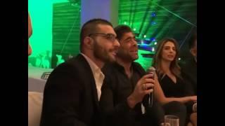 وائل كفوري يغني هلأ تا فقتي لأوّل مرة Live من منزله مع الشاعر حبيب بو انطون
