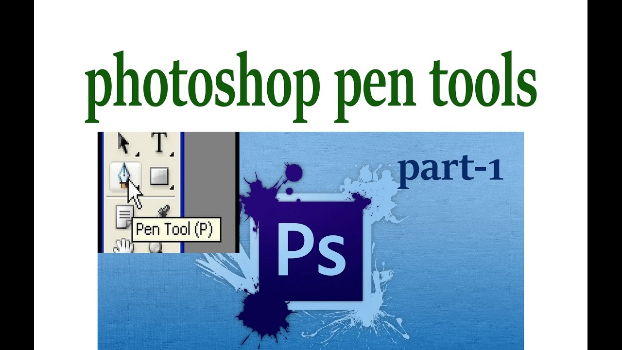 Adobe photoshop tutorial i how to use the pen tools in photoshop adobe photoshop tutorial i how to use the pen tools in photoshop baditri Choice Image