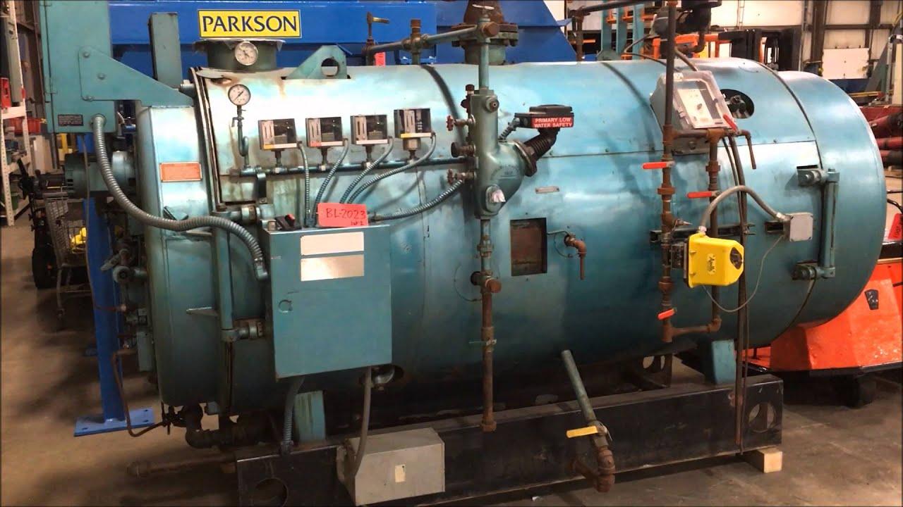cleaver brooks 60 hp 2 511 000 btu natural gas boiler bl2023 youtube rh youtube com manual de operacion calderas cleaver brooks manuales de calderas cleaver brooks