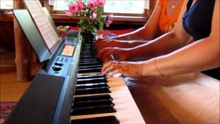 Bee Gees Woman In Love для фортепиано в 4 руки