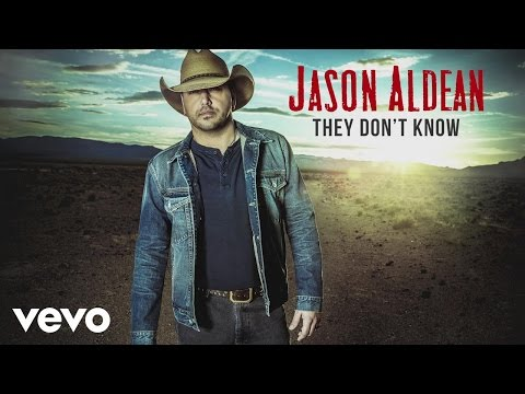 Jas Aldean  They Dt Know Audio