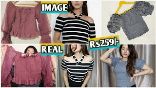 MEESHO CROP TOP TRY ON HAUL Under Rs500 - only Cutest top you ll ever see Sejal Haul Review