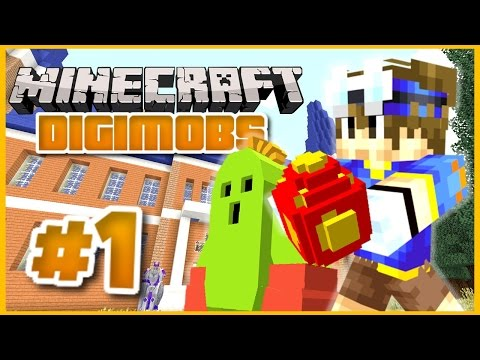 MINECRAFT DIGIMOBS ROLEPLAY ► THE DIGITAL WORLD Episode 1 ► The Beginning! (Minecraft Digimon Mod)