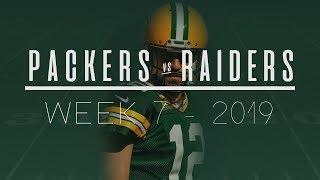 Aaron Rodgers Dismantles Raiders Defense | Week 7, 2019 | Packers Radio Highlights