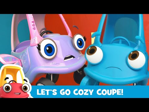 Cozy Coupe Plays Hide and Seek   Paint Adventure!   Kids Videos   Cozy Coupe - Cartoons for Kids