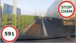 Stop Cham #591 - Niebezpieczne i chamskie sytuacje na drogach