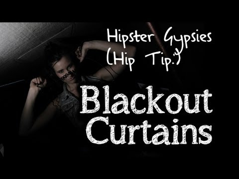 Hipster Gypsies Hip Tip - Blackout Curtains