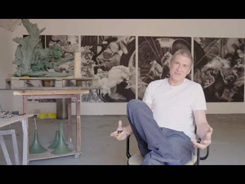 Studio Visit with Artist Hugo Wilson | Christie's