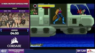 X-Men: Mutant Apocalypse by LRock in 18:09 - SGDQ2017 - Part 118