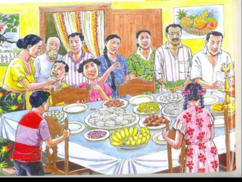 Sinhala and Tamil New Year wish by Keele Sri Lankan Society