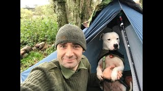 WILD CAMPING AFTER STORM CALLUM AND SPIT ROAST LAMB