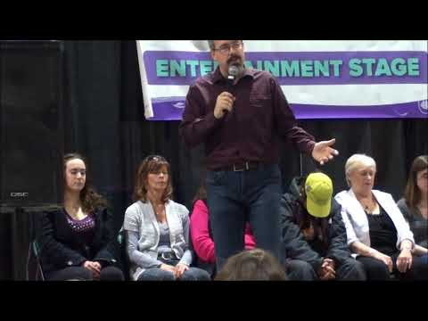 Chris Barry Stage Hypnosis - Fall Calgary Women's Show 2017