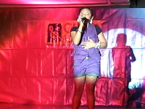 Angella Joy Lista sings I Have Nothing at Mall