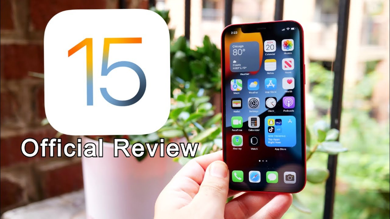 iOS 15 Official Review