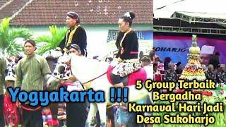 5 Group Terbaik Peserta Bergodho Karnaval Hari Jadi Desa Sukoharjo Yogyakarta