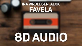 Baixar Ina Wroldsen, Alok - Favela (8D Audio)