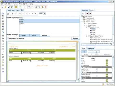 Report Design - Calculated Fields