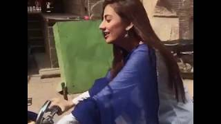 Uroosa Qureshi Bysicle Riding