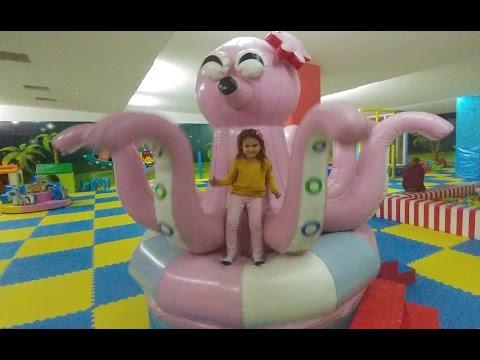 Erasta AVM playland oyunalanı eğlence keyfi, çocuk videosu
