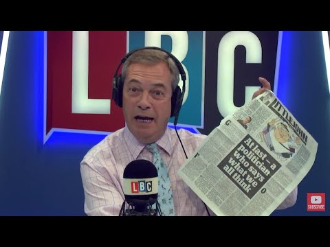 The Nigel Farage Show: Why do we let them return to the UK? LBC - 24rd October 2017