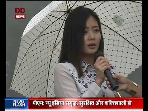 Youth from Kohima expresses their views on Independence day
