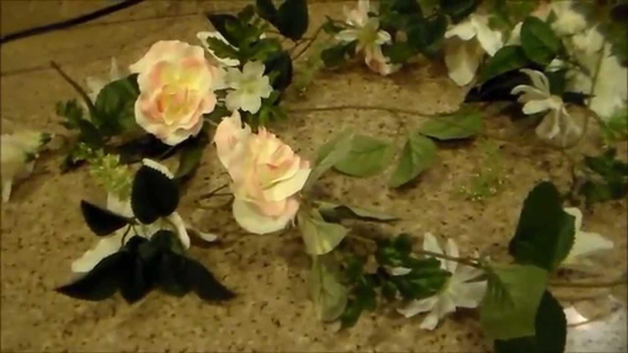 Como hacer una guia de flores artificiales youtube - Como hacer ambientadores naturales ...