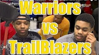 ITS JUST TOO EASY!! SWEEP!! WARRIORS VS TRAILBLAZERS GAME 4 2017 FULL HIGHLIGHTS AND REACTION!
