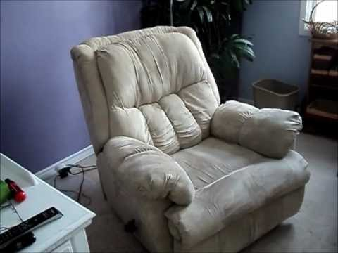 Repairing a broken reclining chair. - YouTube