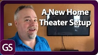 Setting Up A New Home Theater System