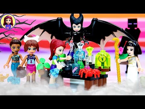 Lego Friends Halloween Dress Up | Potion Mixing Madness