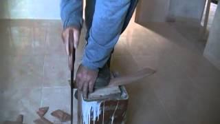 colocando guarnição ( alizar) em arco com suta