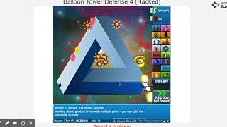 Btd 4  Hacked  - Unblocked Games