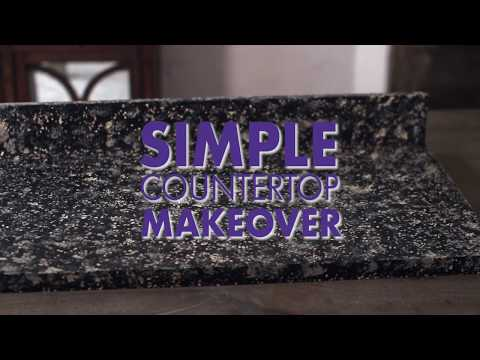 Beyond Paint | Countertop Makeover | Dual Color Application | Granite Like  Finish