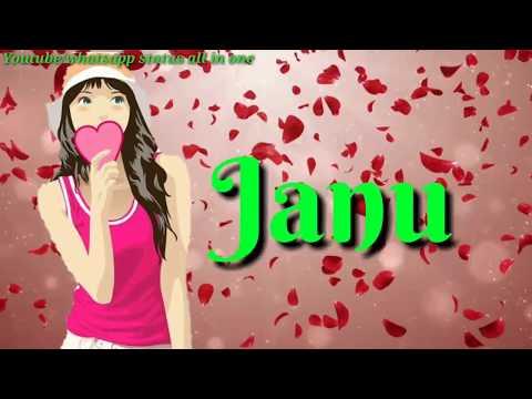 Tu Mera Janu Hai Whatsapp Status | Romantic Whatsapp Status