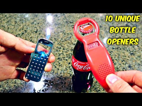 Thumbnail: 10 Weird Bottle Openers put to the Test - Part 2