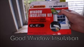 Unboxing And Installation Of Frost King Insulation Kits - 105
