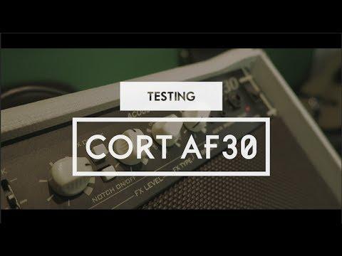CORT AF30 FEATURE TEST
