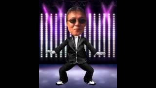 松井和彦にガンナムスタイル踊らせてみた