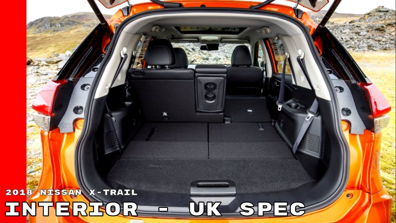 2018 Nissan X-Trail Interior Cabin - UK Spec - YouTube