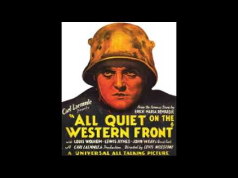 Audio book: All Quiet on the Western Front