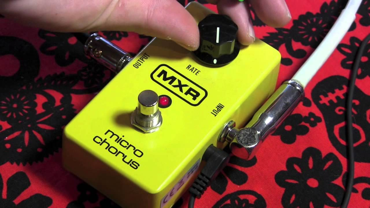 mxr micro chorus guitar effects pedal demo with stratocaster youtube. Black Bedroom Furniture Sets. Home Design Ideas