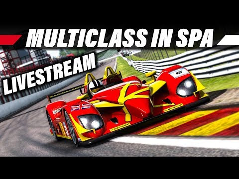 Vr Brille Für Raceroom : Spa multiclass rennen raceroom racing experience livestream